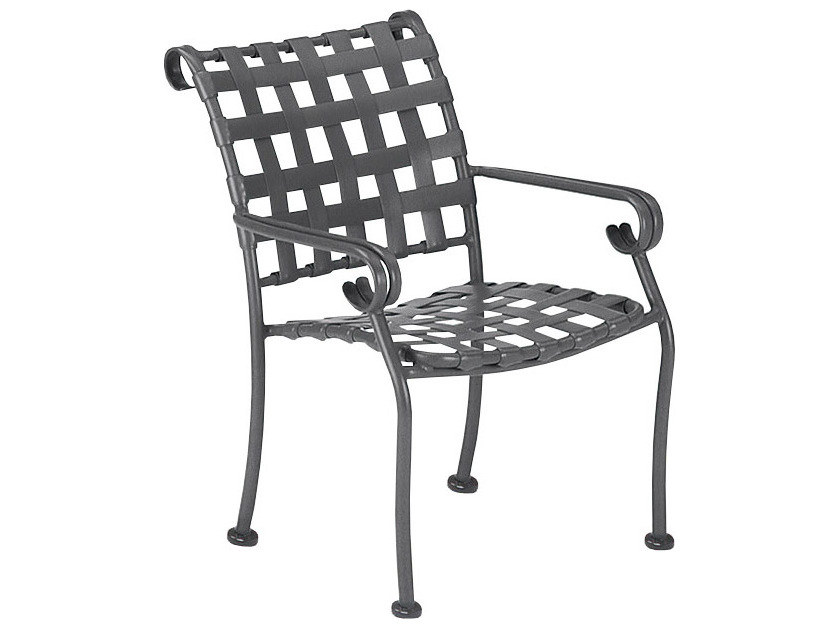 Woodard Ramsgate Strap Dstackable Dining Chair Replacement