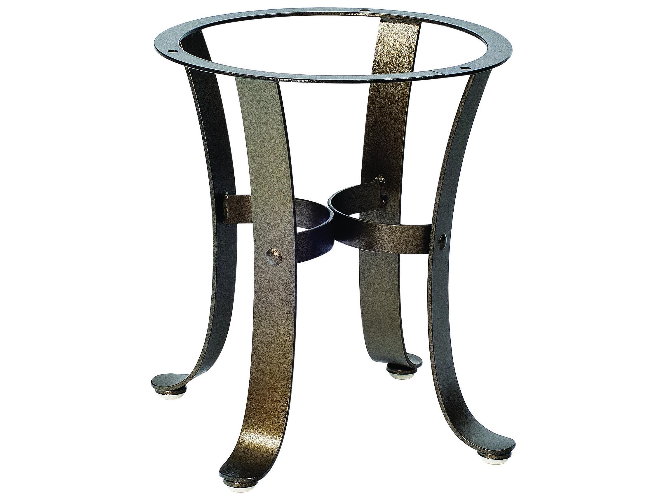 Woodard Cascade Wrought Iron End Table Base 2w3900