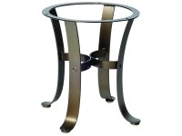 Woodard Cascade Wrought Iron End Table Base