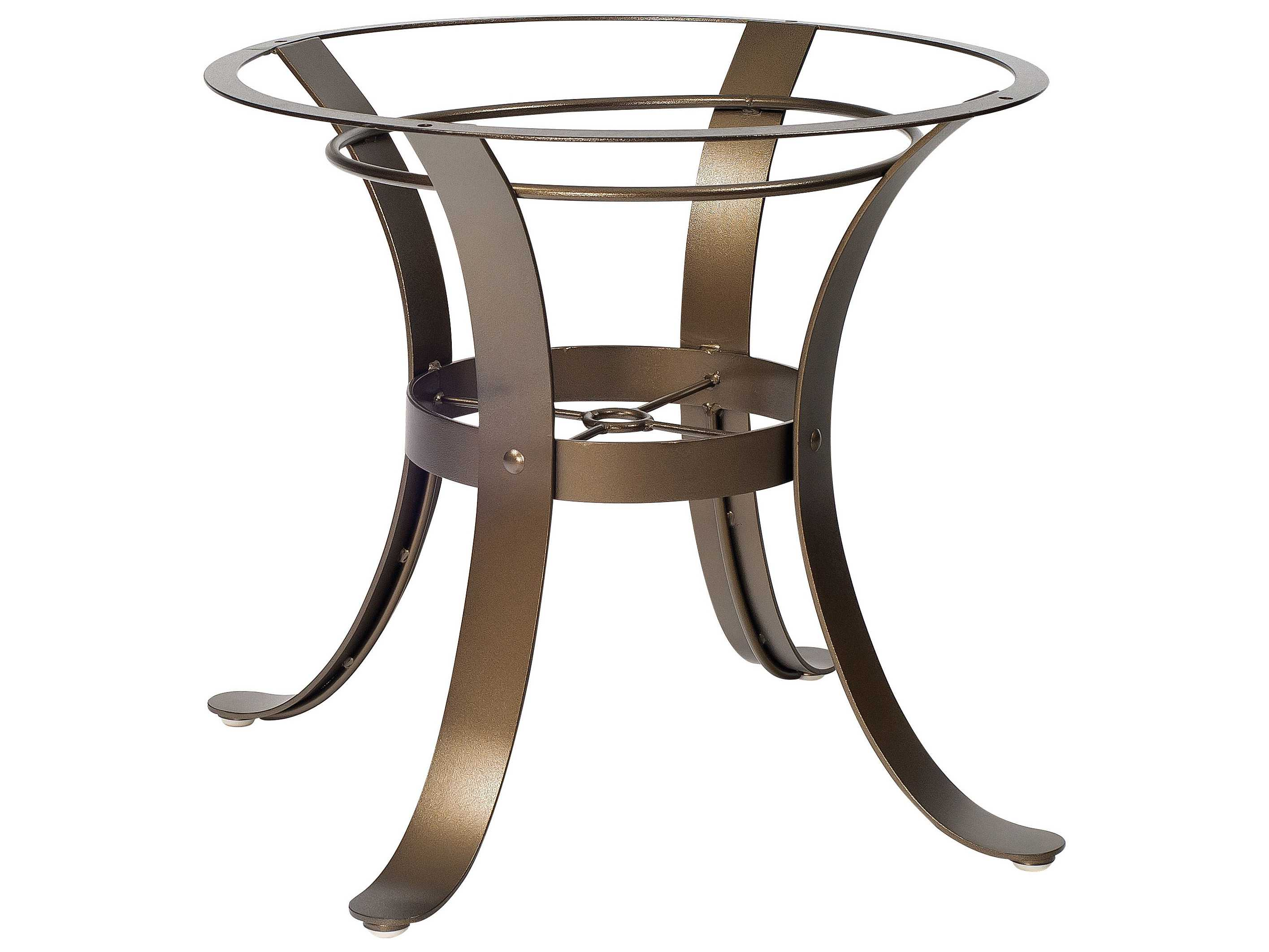 Woodard Cascade Wrought Iron Dining Table Base