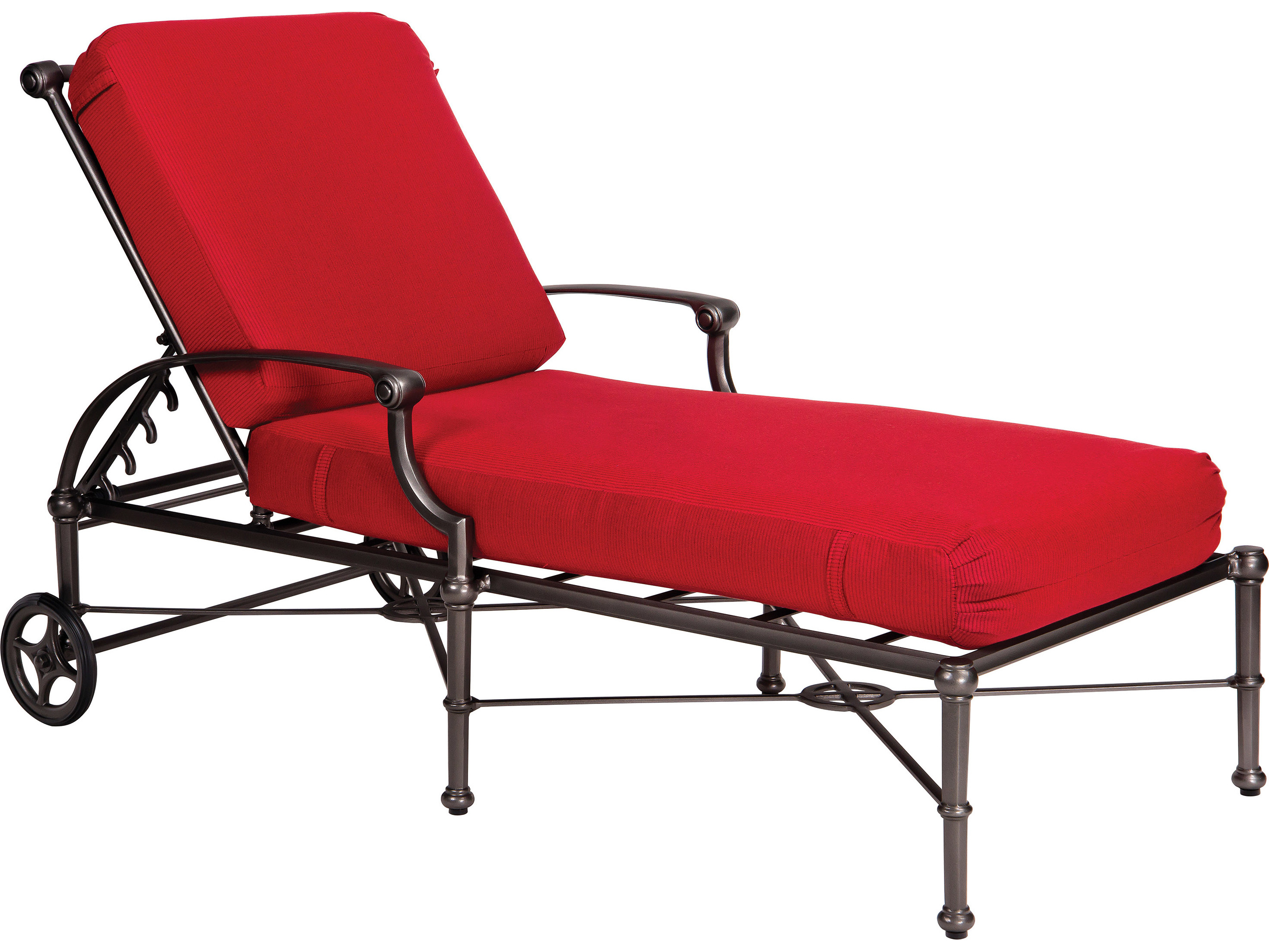 Woodard Delphi Chaise Lounge Replacement Cushions 850470ch
