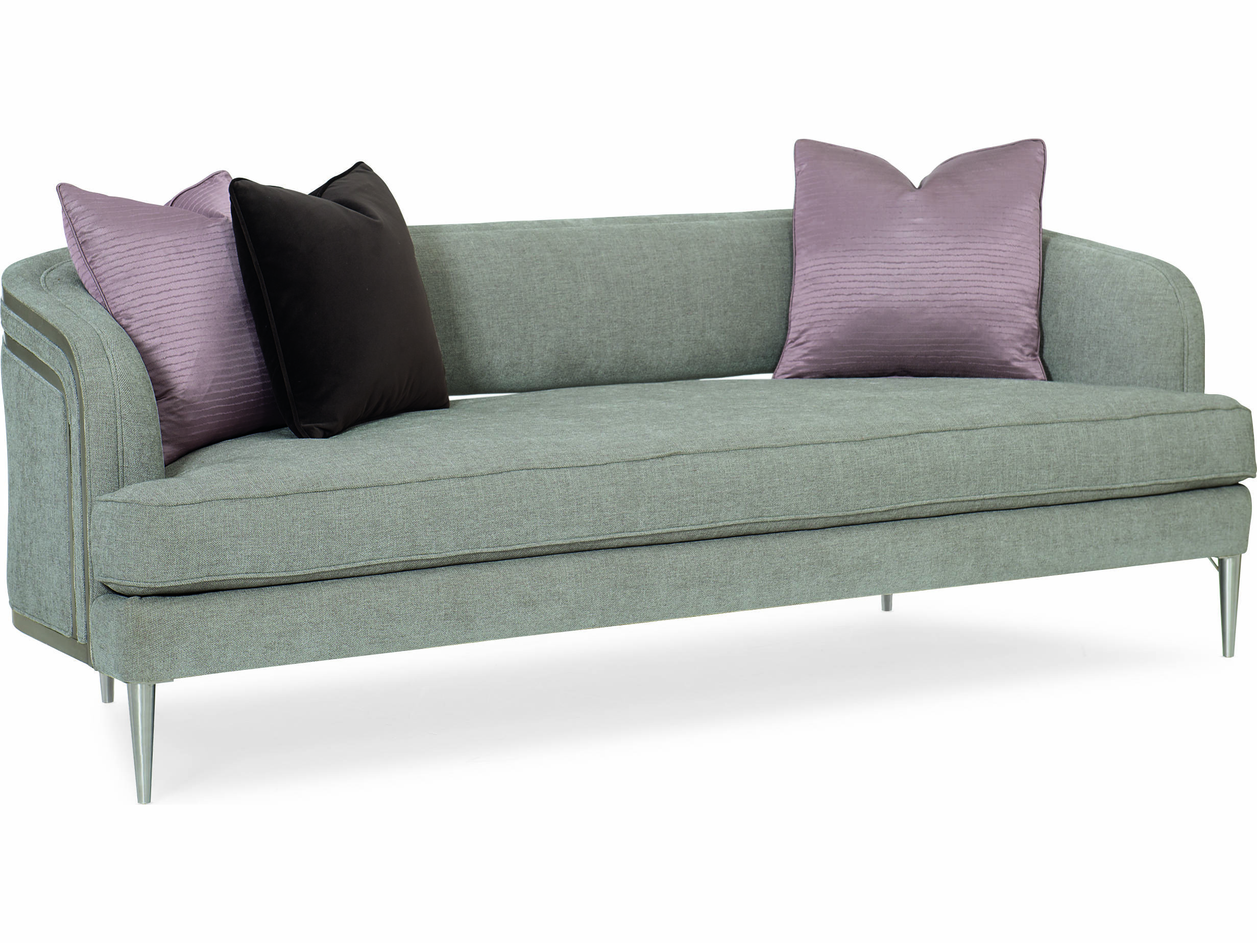 Sofa Grace Caracole Modern Grace French Grey Tranquil Sofa
