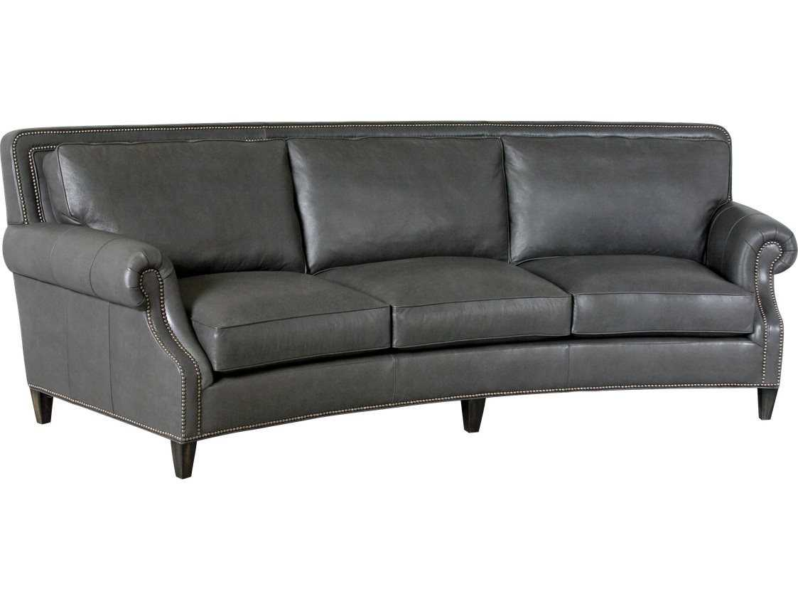 Curved Sofa Classic Leather Paxton Curved Sofa