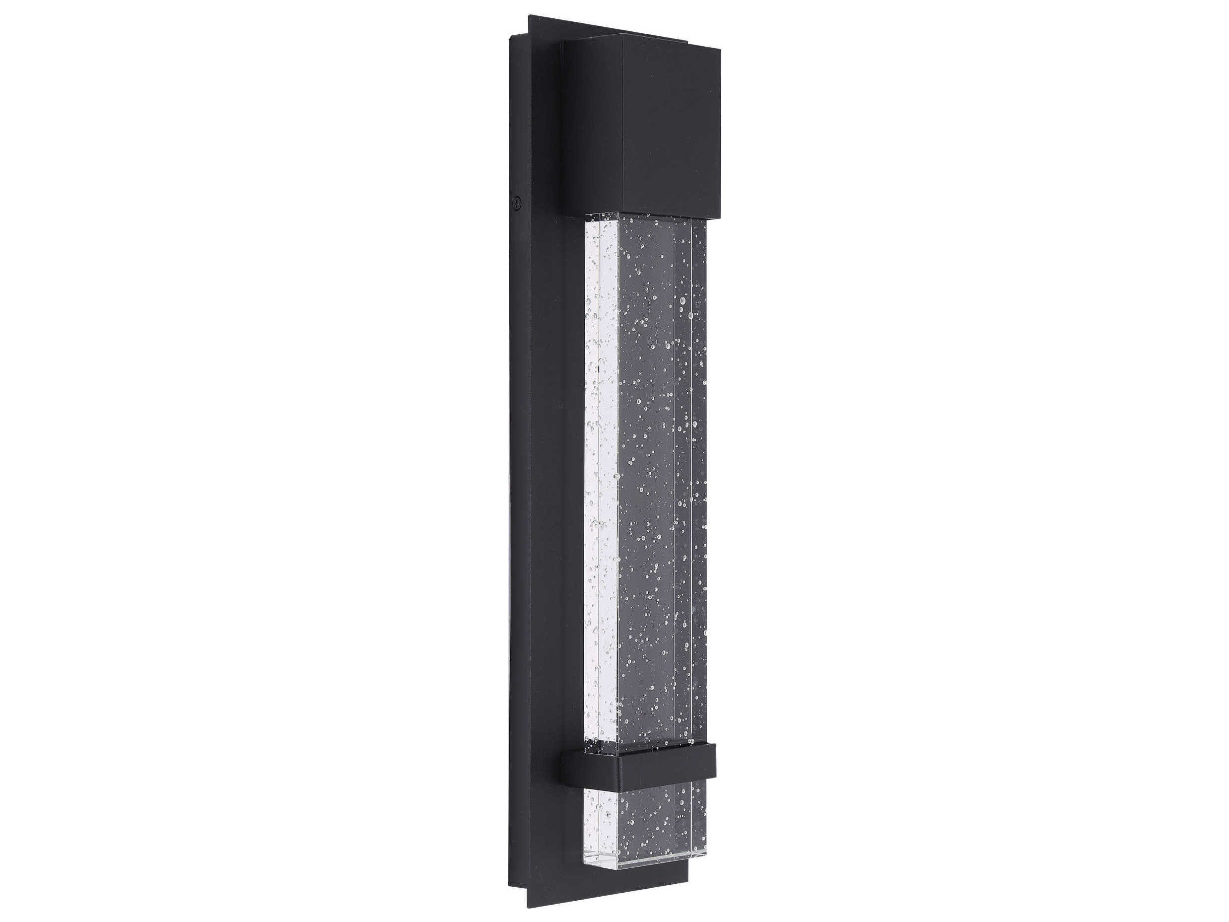 Eglo Riga Led Outdoor Wall Light Eglo Venecia Matte Black 18 Tall Led Outdoor Wall Light