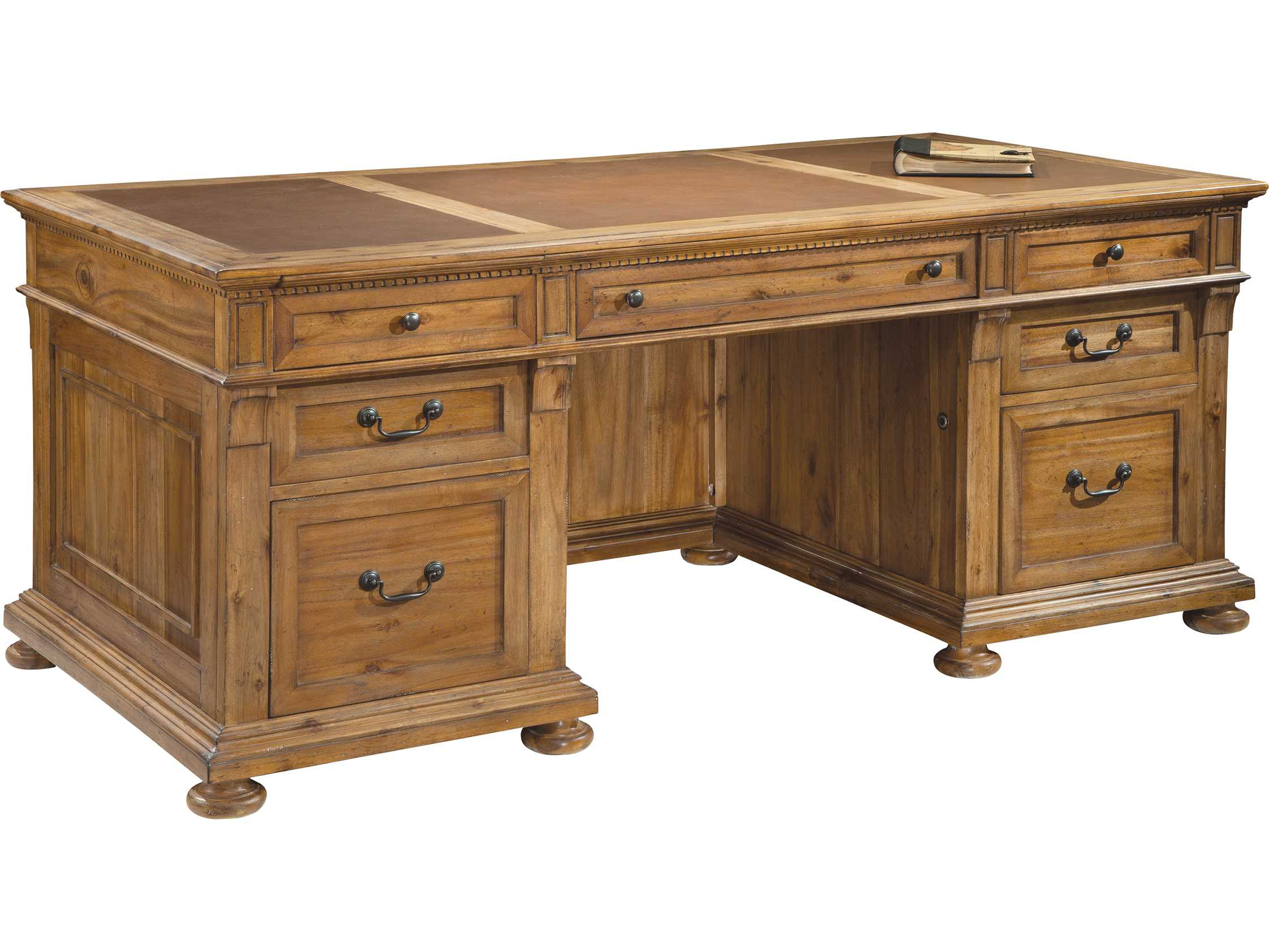 Classic Table Office Hekman Office Express Relaxed Classic Executive Desk