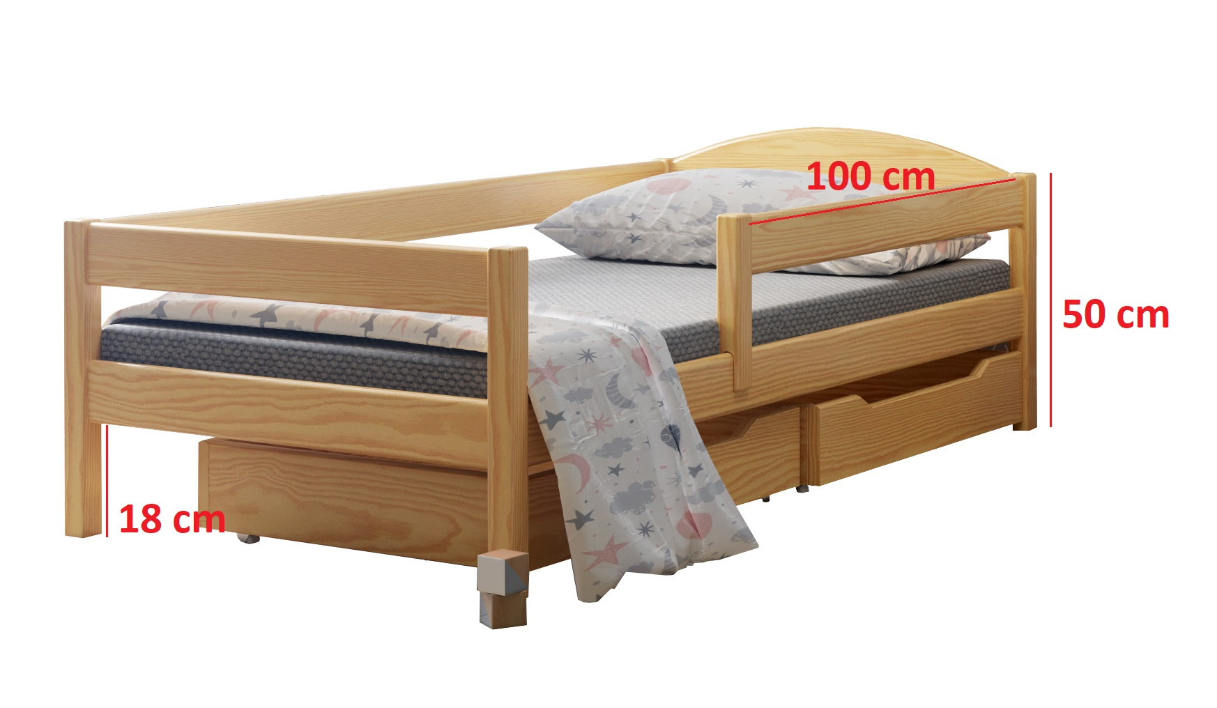 Matelas 160x70 Lit Simple Ola