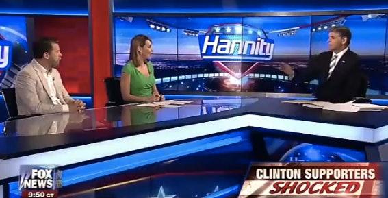 Fox News Guest Gavin Mcinnes Tells Tamara Holder She39d Be