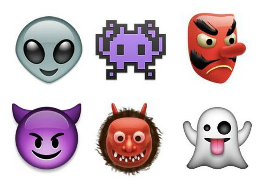 what do all the monster emoji mean all your questions