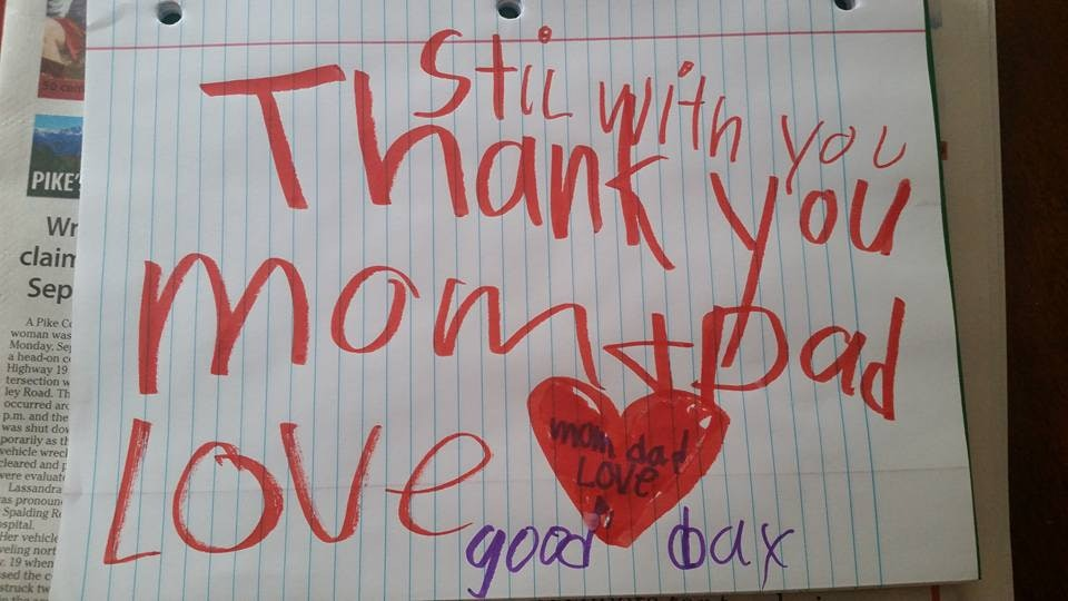 6-Year-Old\u0027s Touching Goodbye Letter Was Found By His Parents Soon - goodbye note