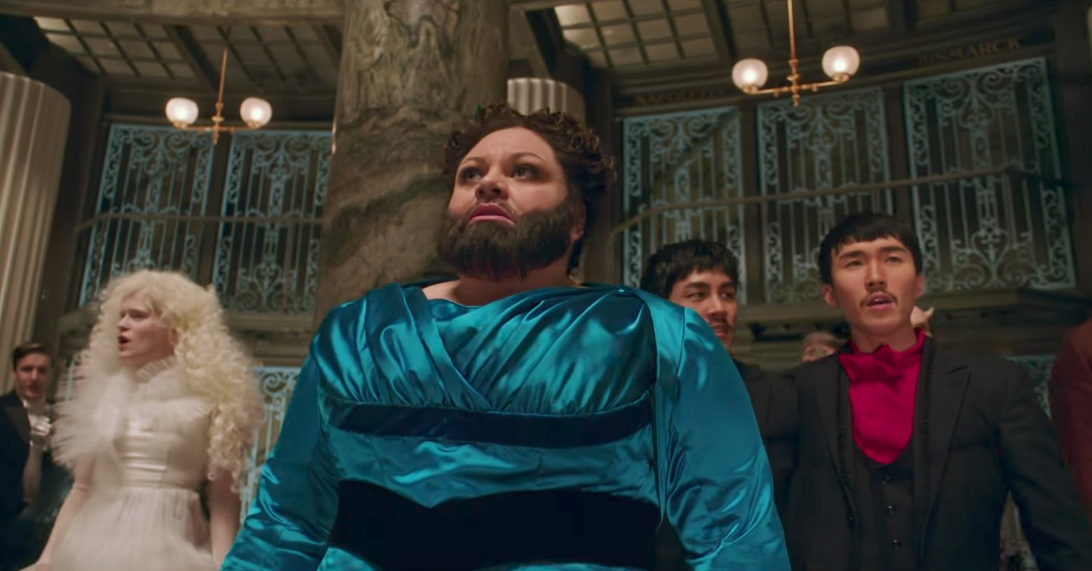 Lettie Lutz Real The Actor Who Plays The Bearded Lady In The Greatest Showman Has