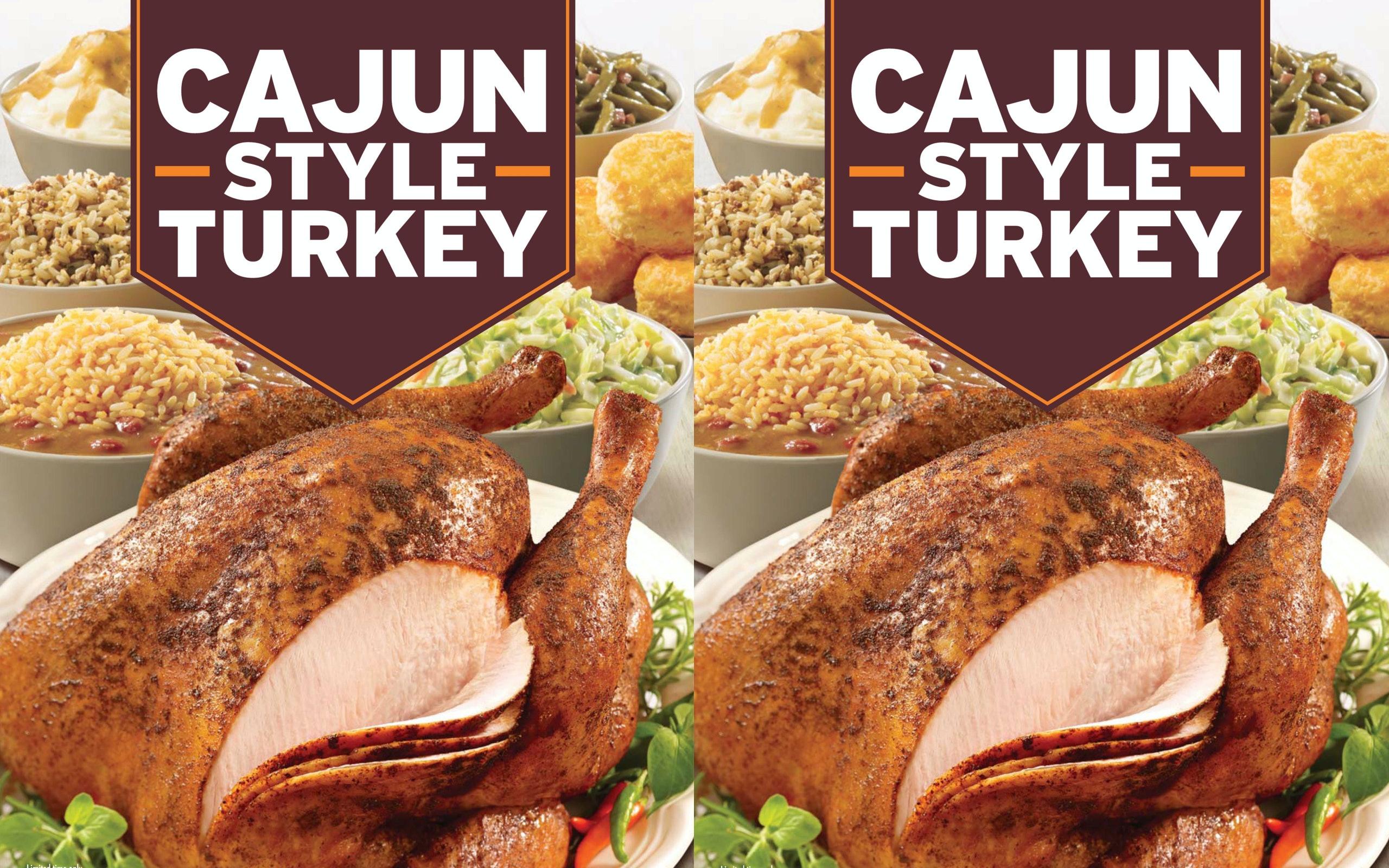 Fullsize Of Popeyes Cajun Turkey