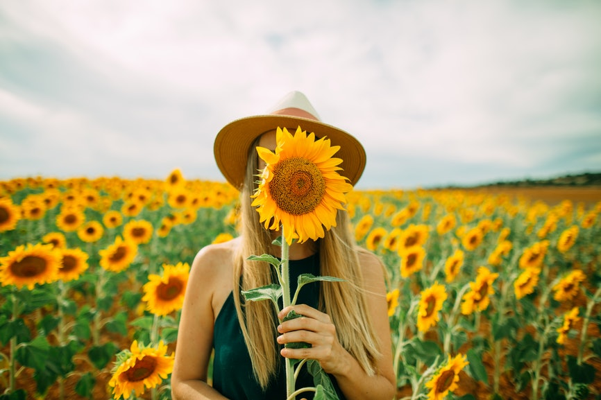 Sad Girl Background Wallpaper 23 Instagram Captions For Sunflowers That Ll Instantly
