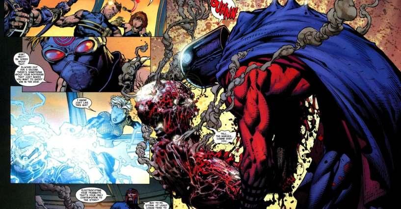 the most disturbing things that happened in the ultimate marvel universe