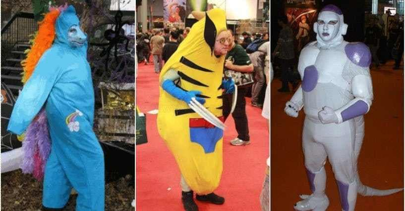 Cosplay Fails The Worst Cosplay Costumes Of All Time