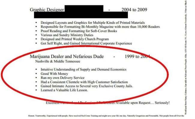 hilarious resume mistakes