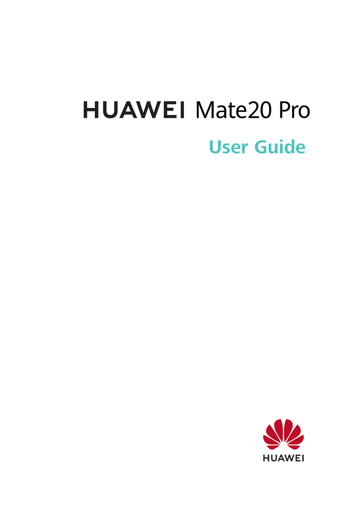 Pro User Manual Huawei Mate 20 Pro Android 9 Device Guides