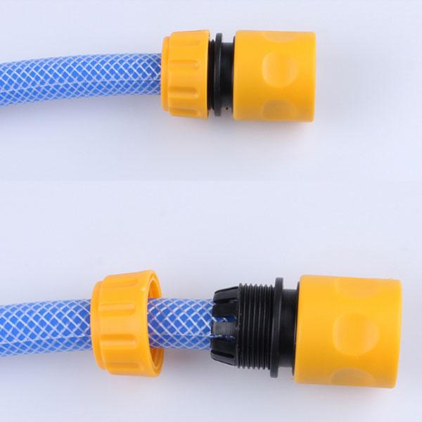 1/2 Inch Plastic Water Hose Quick Connector Garden Hose