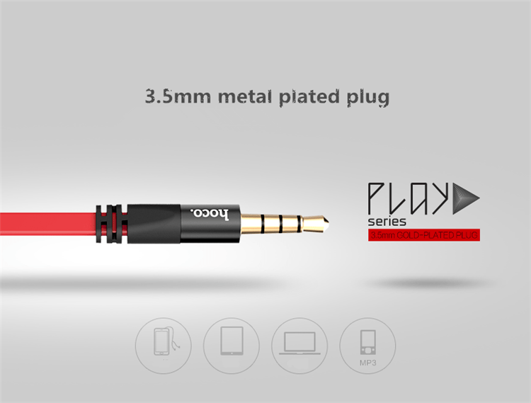 Earphone metal plug