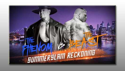watch wwe summerSlam reckoning phenom vs beast