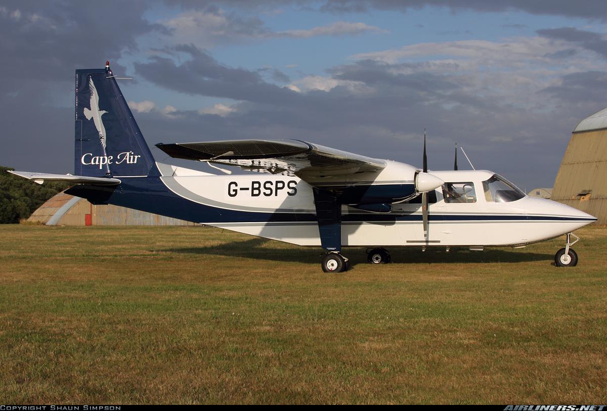 Pilatus britten norman bn 2b 26 islander cape air aviation photo 2300520 airliners net