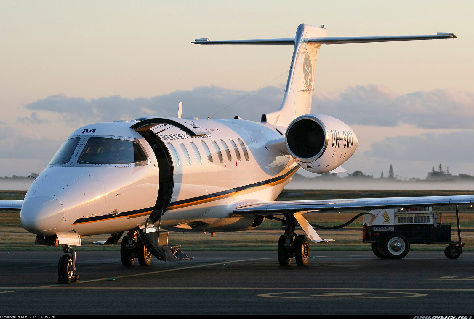 Cheap Houses For Sale Sunshine Coast Learjet 45 Singapore Flying College Aviation Photo