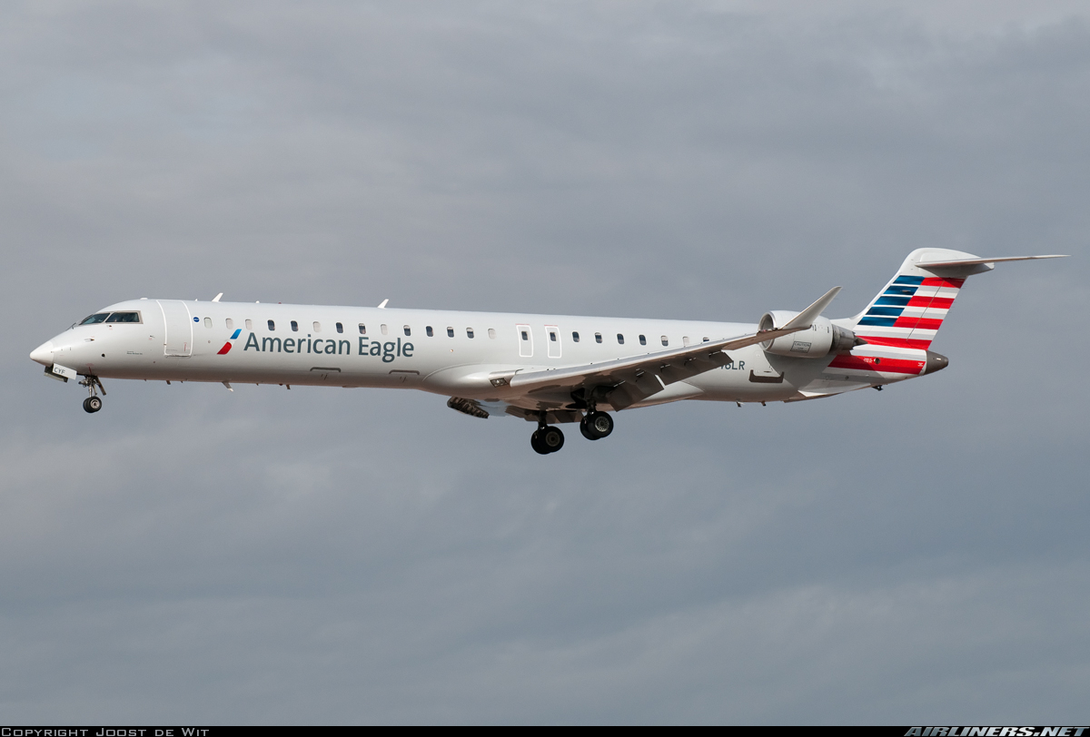 Mesa Airlines Bombardier Crj 900lr Cl 600 2d24 Us Airways Express Mesa