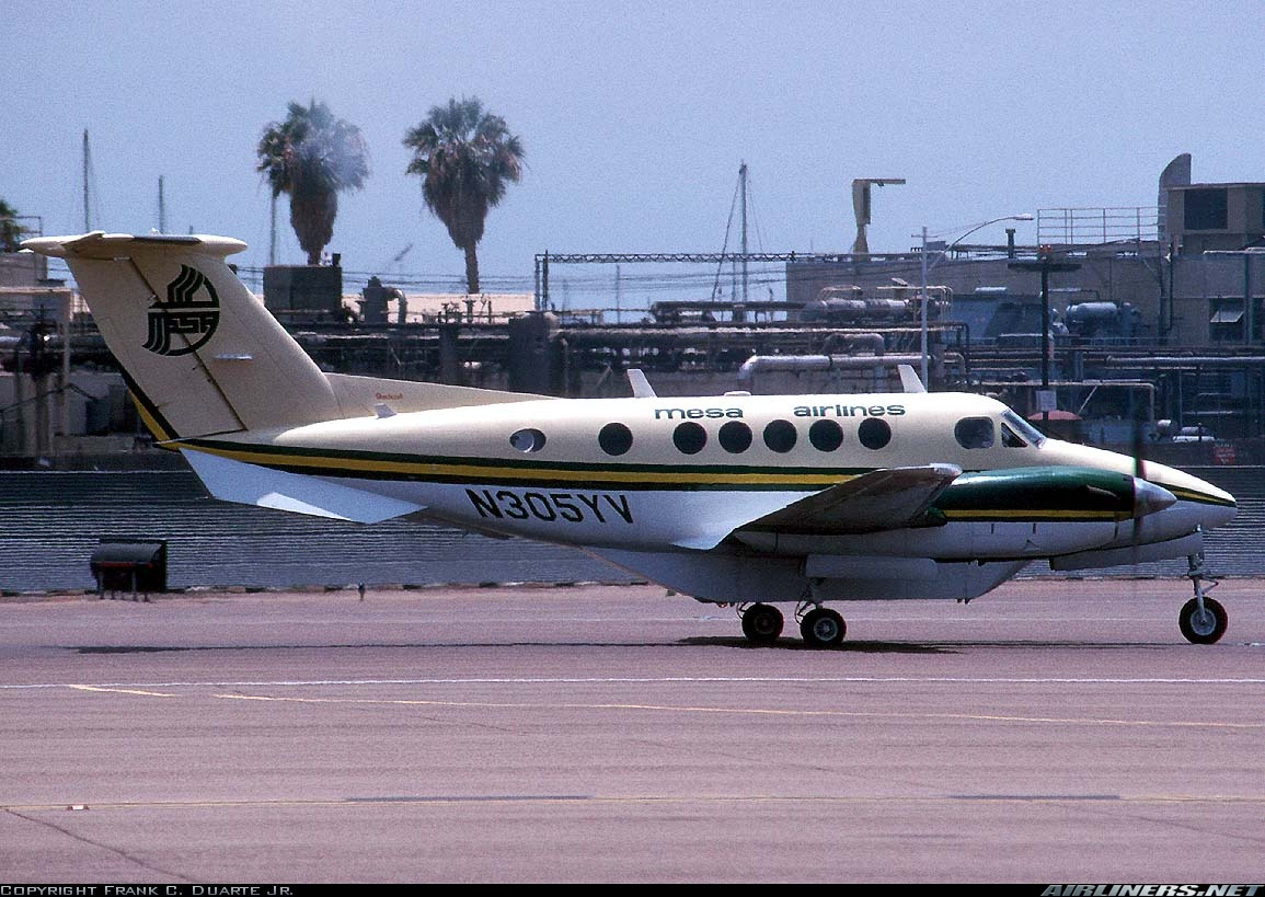 Mesa Airlines Beech 1300 Commuter Mesa Airlines Aviation Photo 0982757
