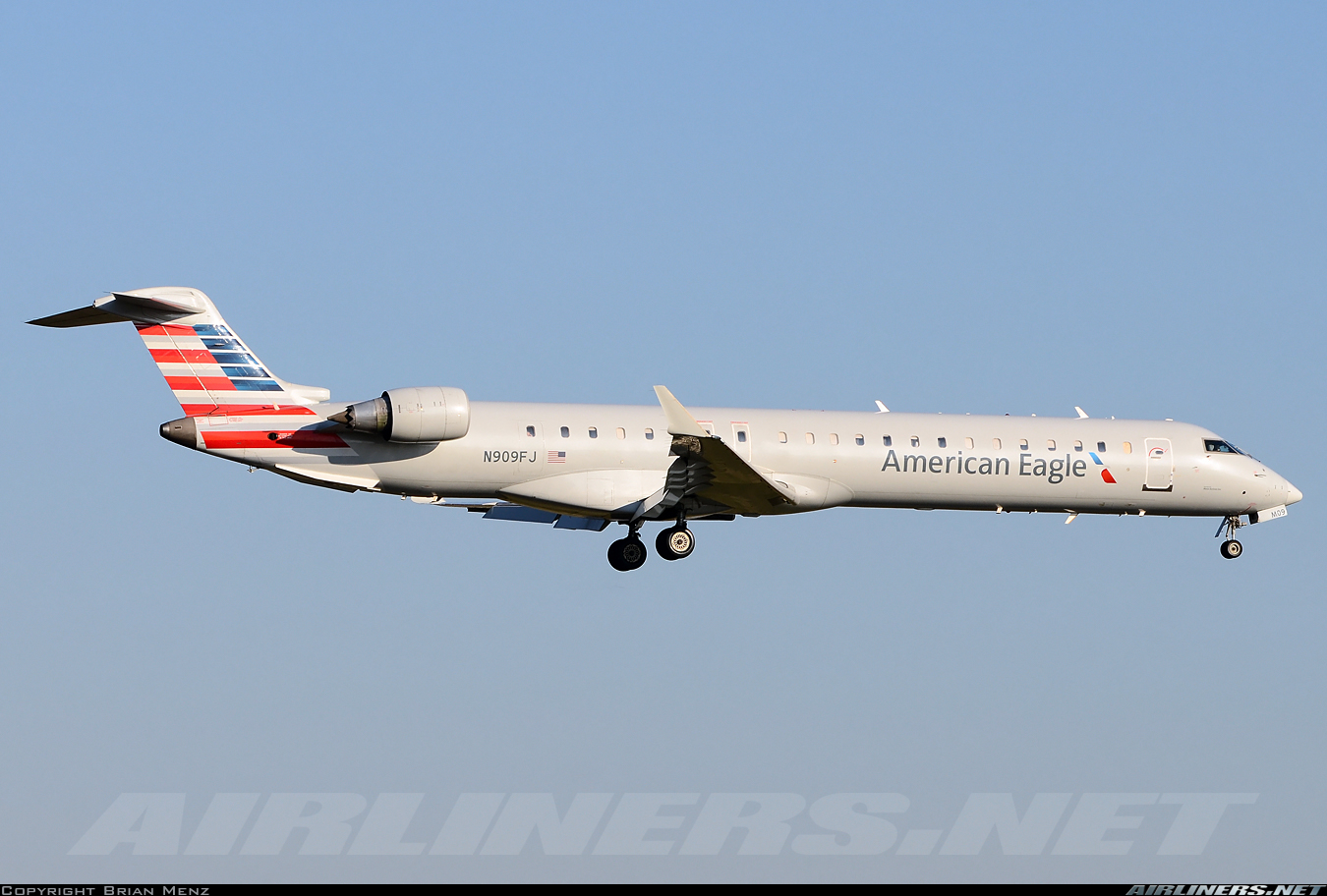 Mesa Airlines Bombardier Crj 900er Cl 600 2d24 American Eagle Mesa Airlines