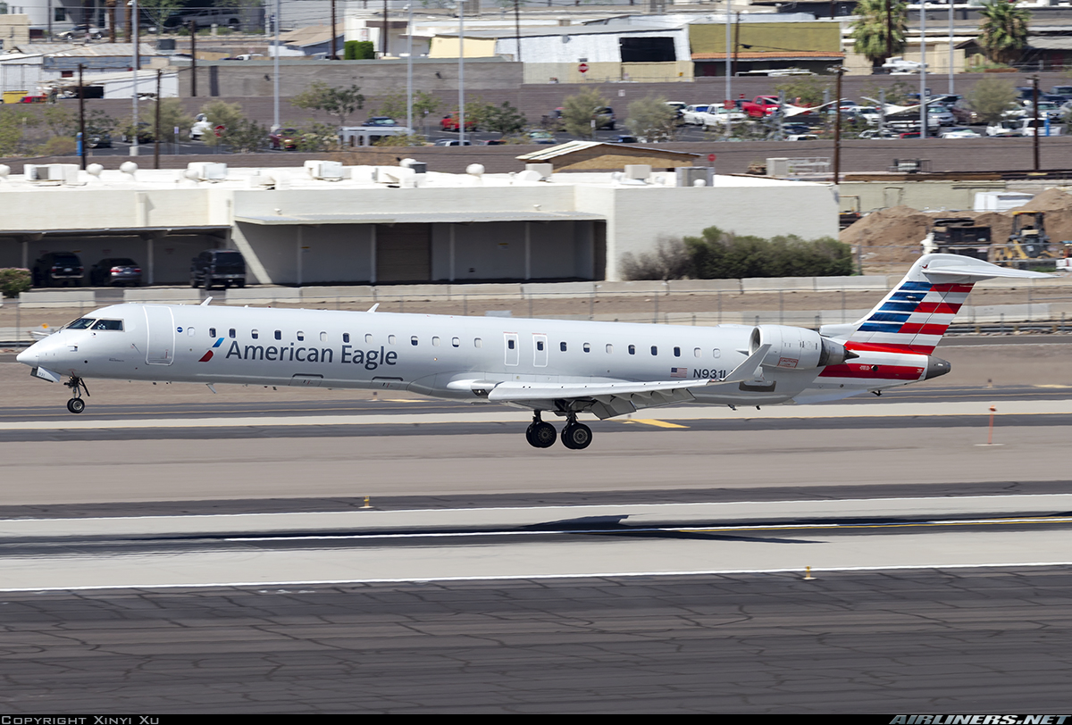 Mesa Airlines Bombardier Crj 900 Cl 600 2d24 American Eagle Mesa Airlines