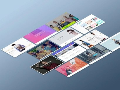 Perspective Website Mockup by madbrains by Madbrains ~ EpicPxls