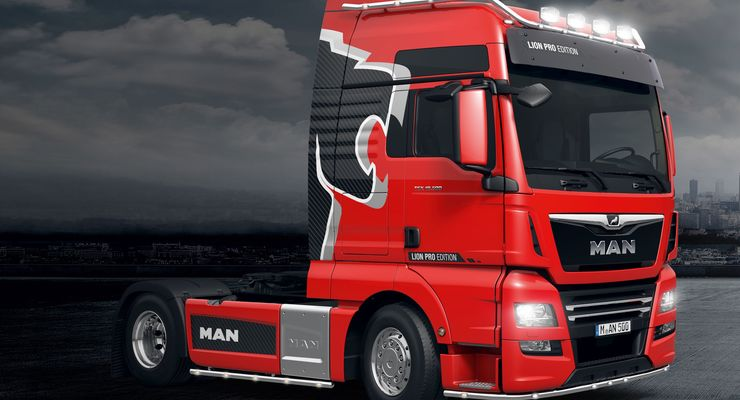 Pflegen Leder Man Tgx Lion Pro: Stolzer Löwe - Eurotransport