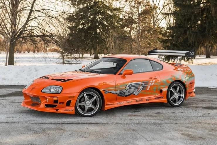 Fast And Furious 8 Cars Wallpaper Hd Paul Walkers Toyota Supra Verkauft Auto Motor Und Sport
