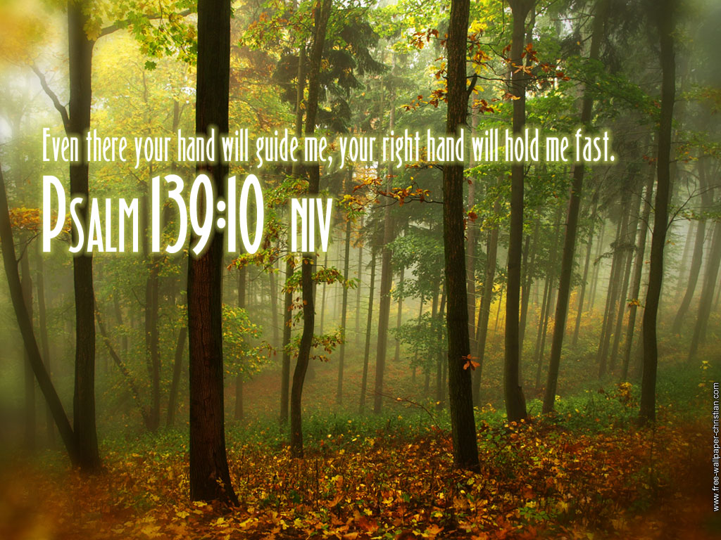 Free Fall Christian Desktop Wallpaper Bible Quotes Psalm 139 For The Choir Director A Psalm Of