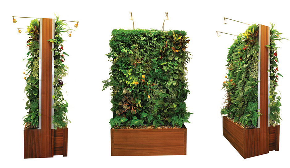 Easily Outfit Your Home in Greenery with Plant Wall Design\u0027s - vertical designs