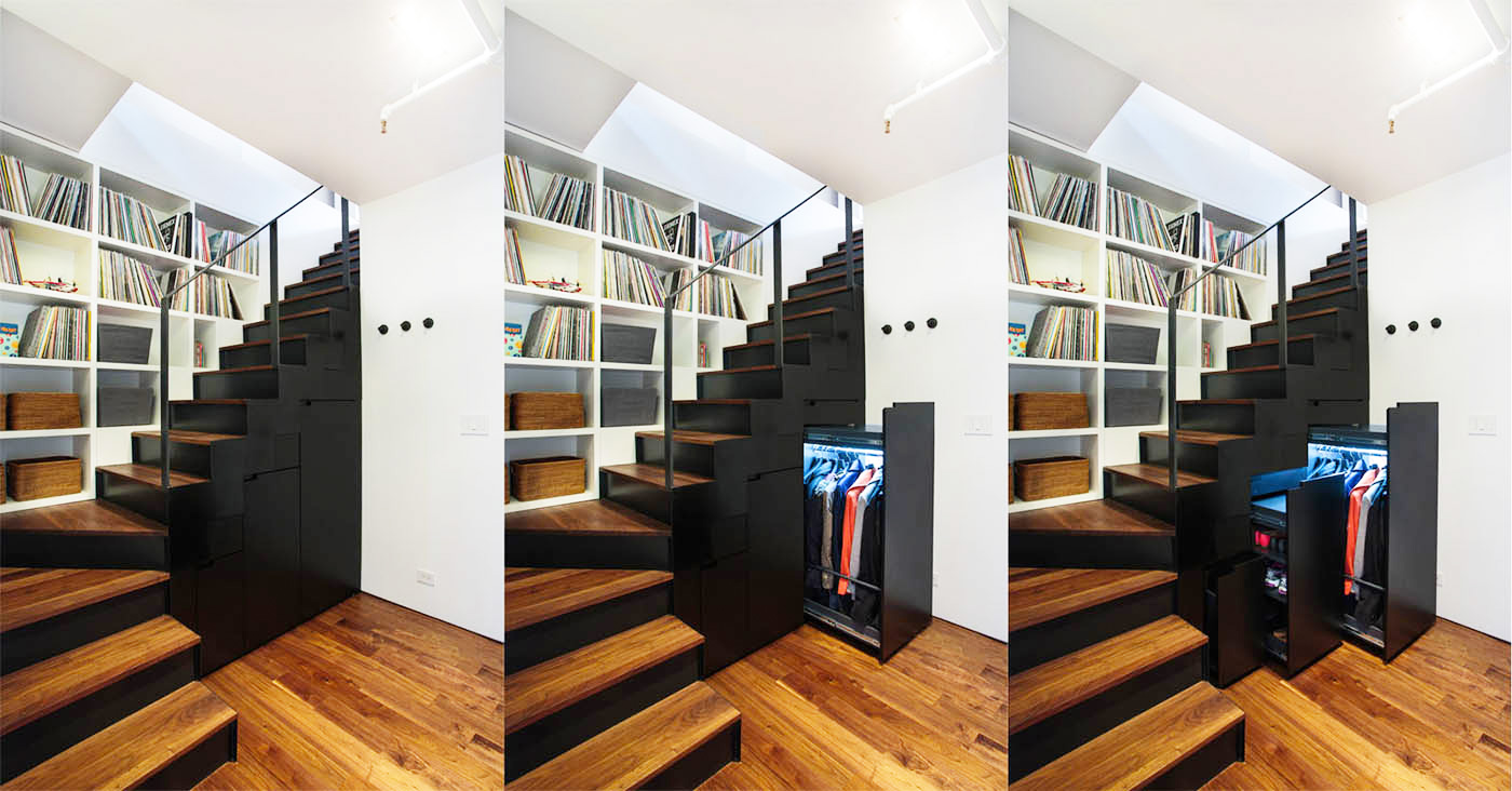 It39s Storage Galore At This Noho Duplex Renovation By Raad
