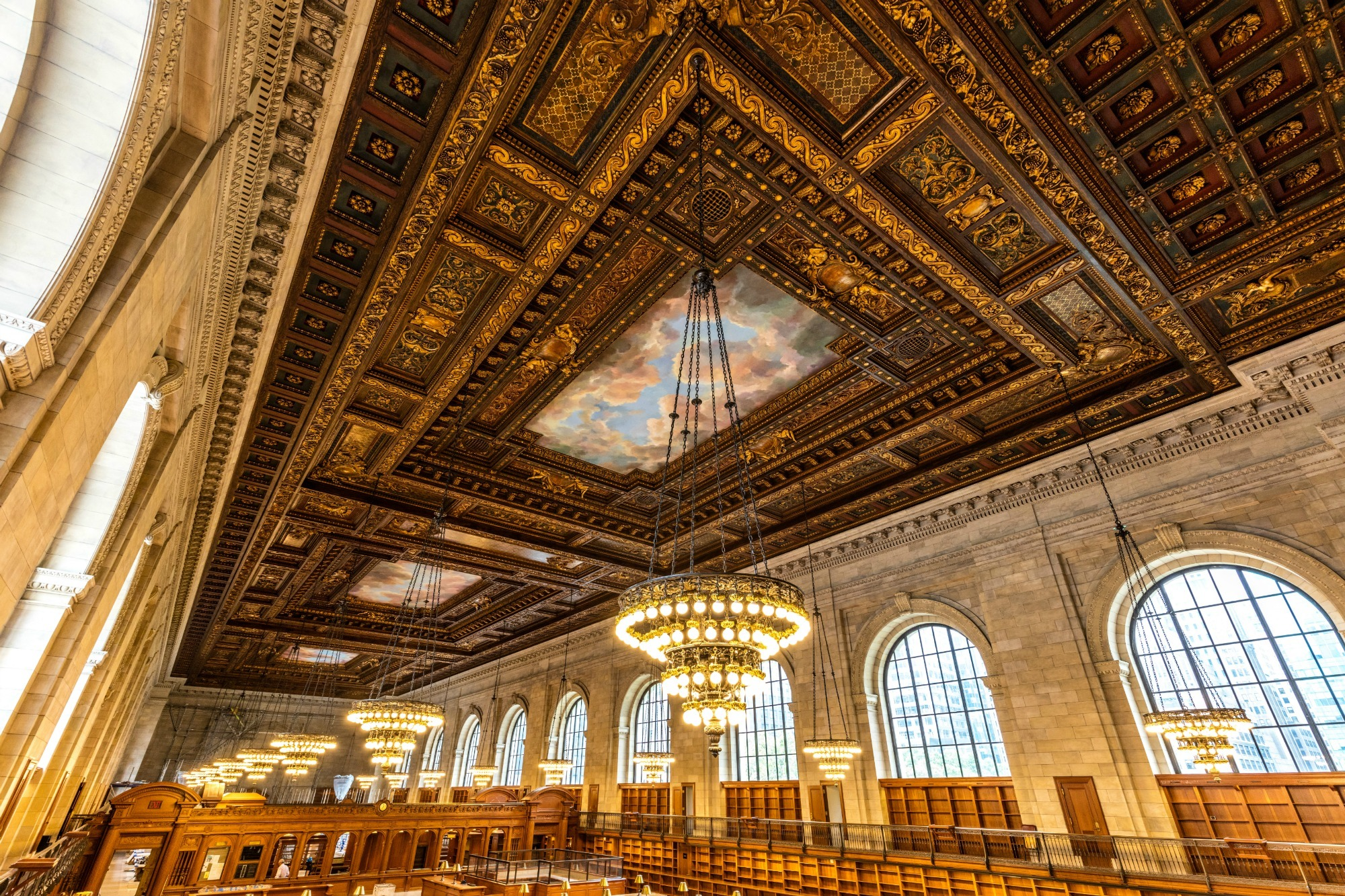 Park Lighting Floor Lamps Photos: After Two-year Renovation, Nypl's Historic Rose