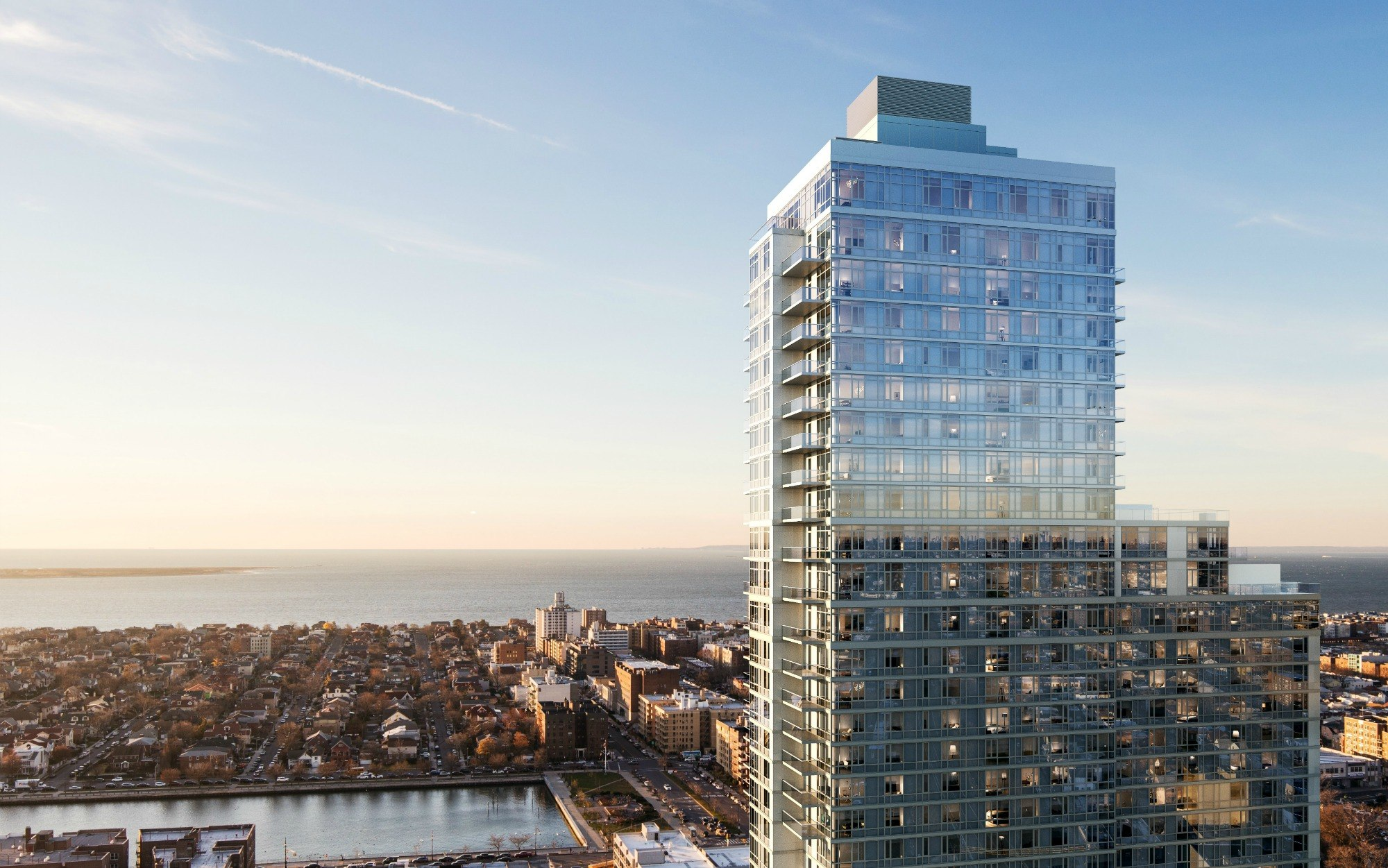 Tallest Residential Building Nyc New Rendering For The Sheepshead Bay Condo That 39s The