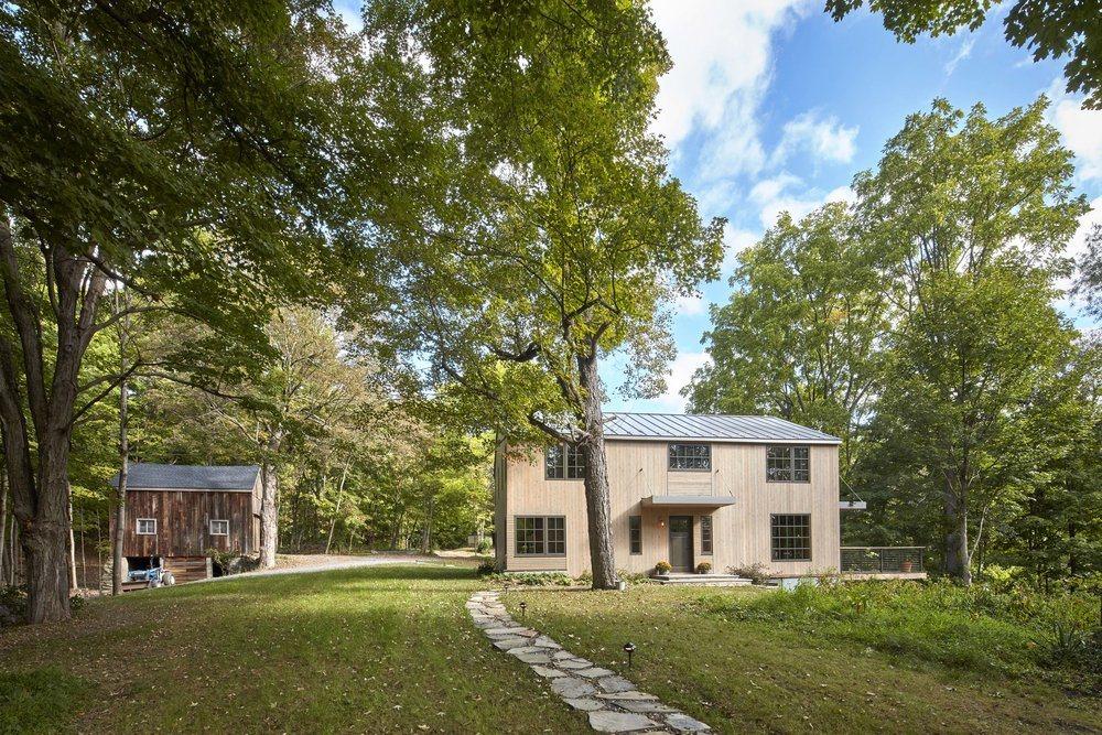 Foz Design Transforms An Old Upstate Farmhouse Into A