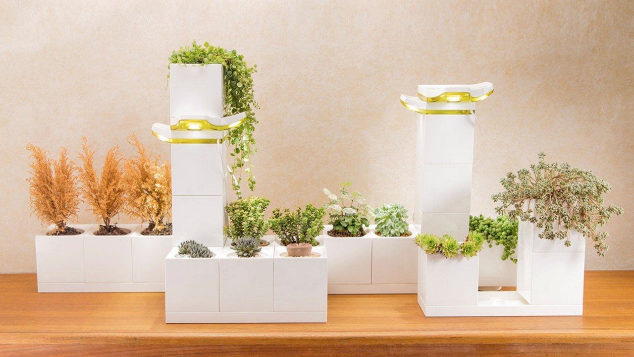 Lamp Plant The Legrow Modular Smart Garden Is A Lego Like System That Makes