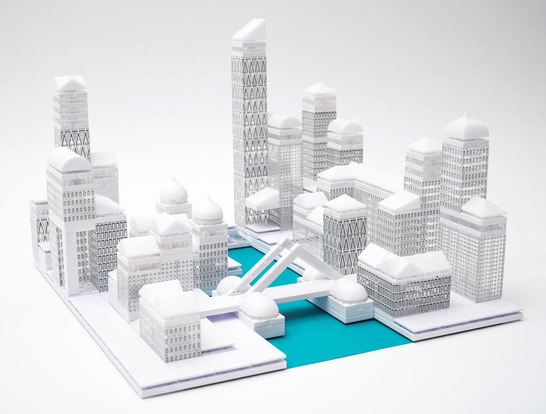 Architectural Model Kits Arckit 39s New Modeling Sets Make It Easy To Build