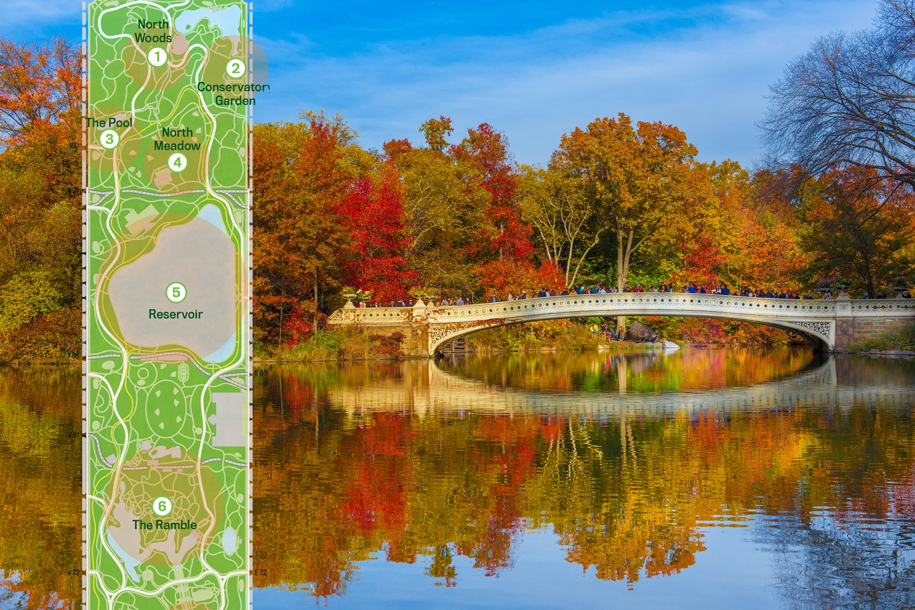 Fall Barn Wallpaper Map Find The Colorful Fall Foliage Of Central Park S