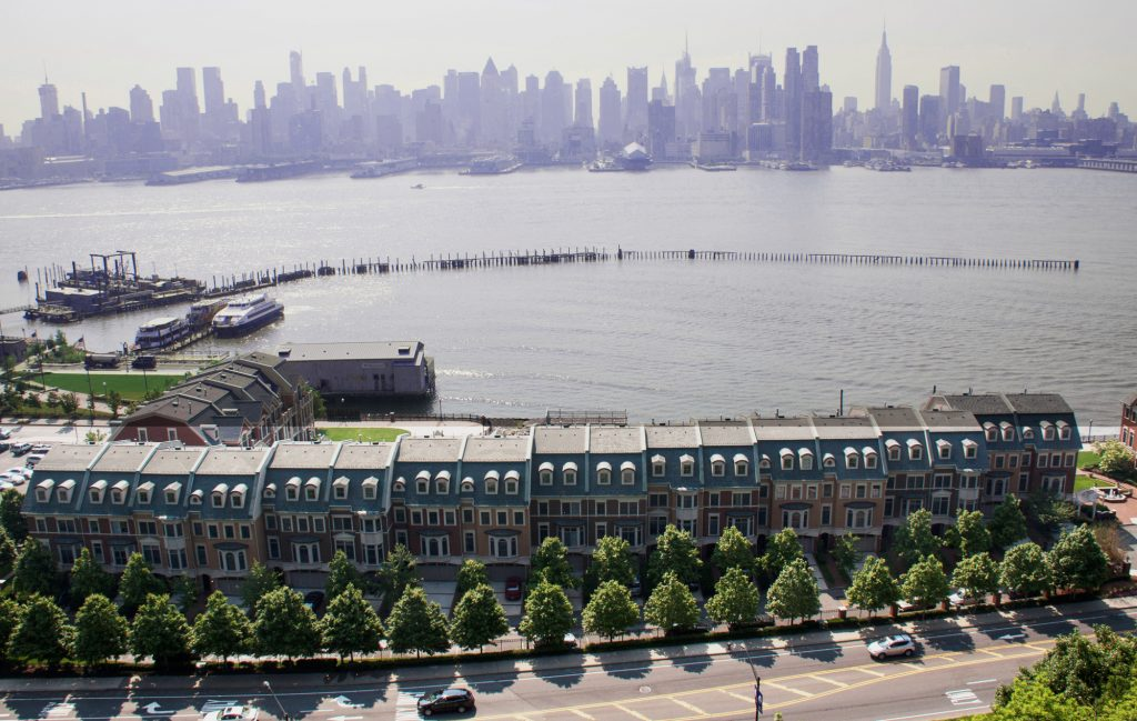 Why Weehawken? Short commutes and NYC skyline views along the