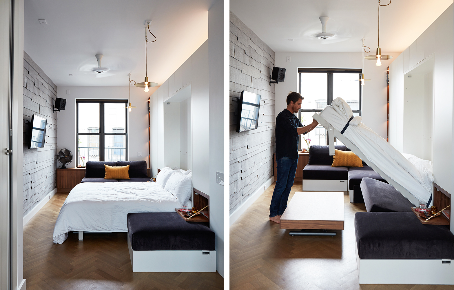 Micro Living Apartment Small Living Advocate Graham Hill Lists His 350 Square