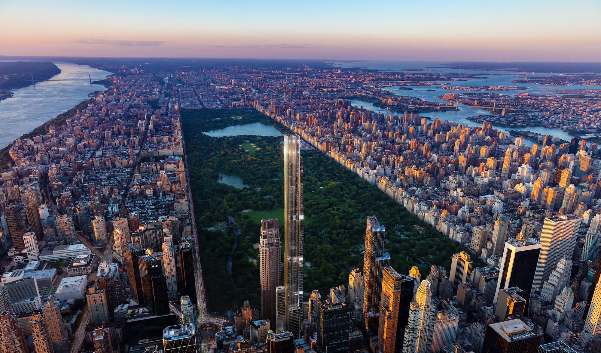 Tallest Residential Building Nyc Sales Launch At Extell 39s Central Park Tower The World 39s