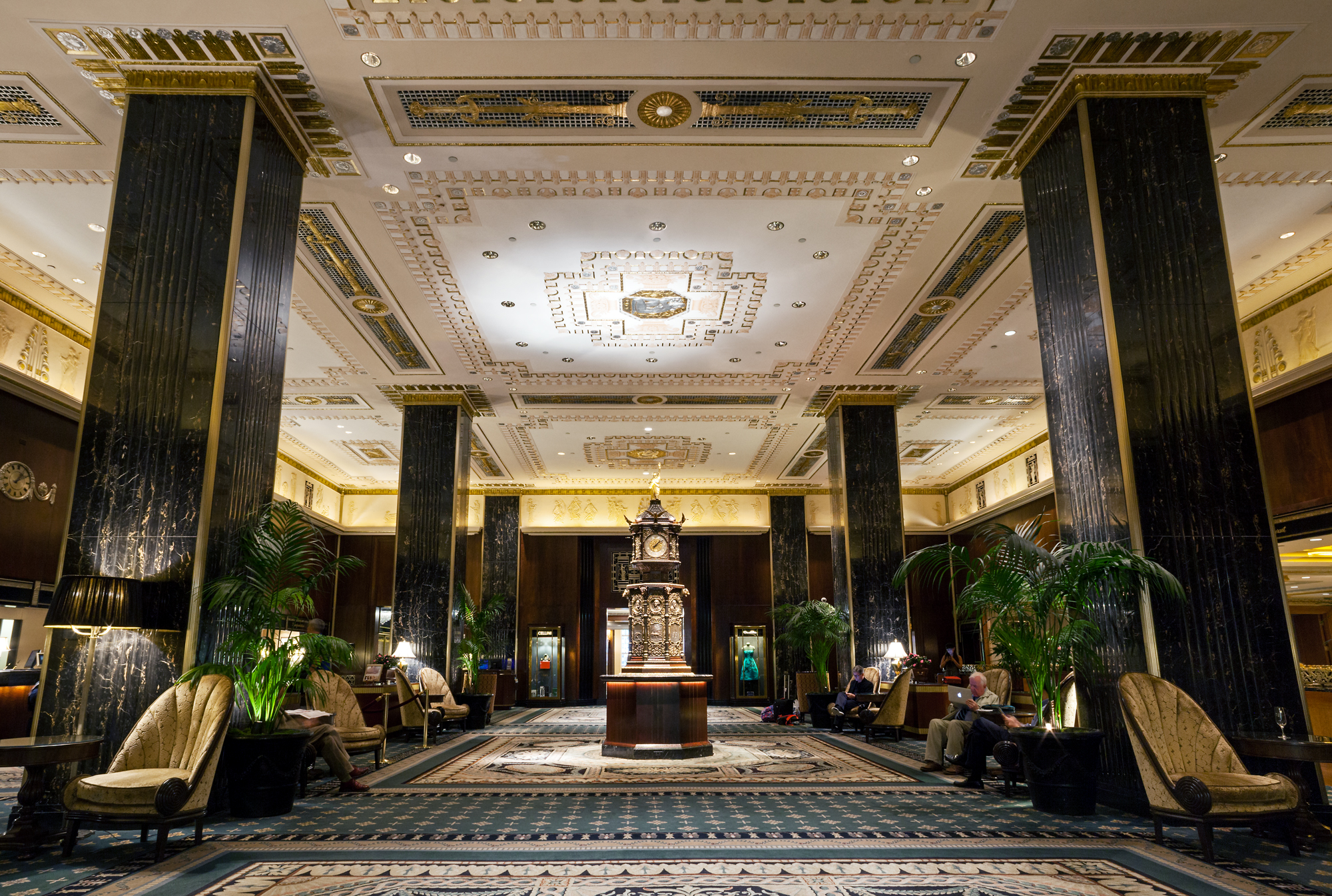 Renovation Decoration Photos Capture The Historic Glamour Of The Waldorf Astoria Before