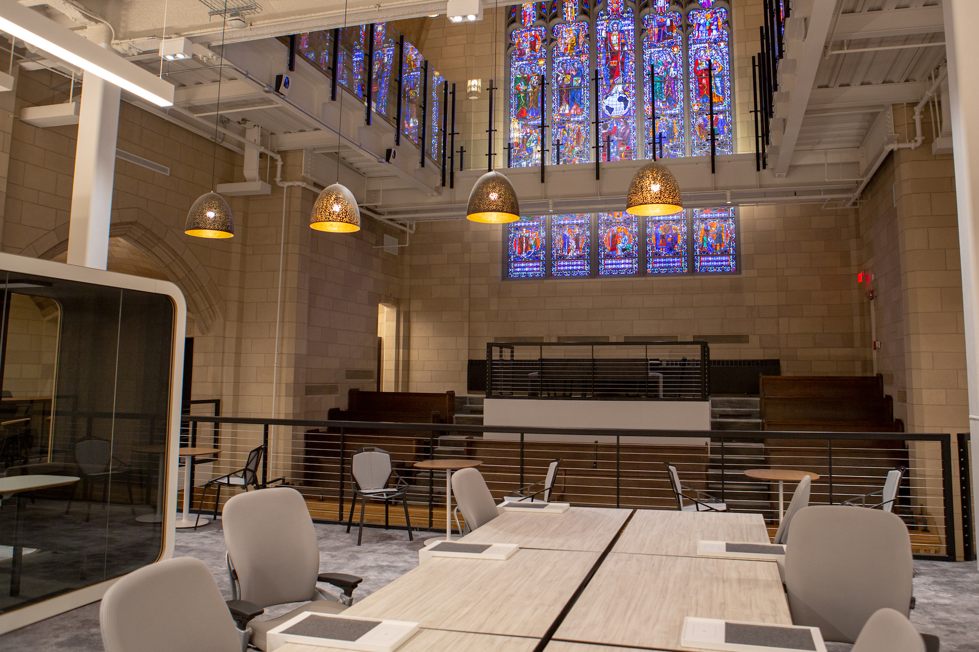 Amazon Audible Login Audible Opens New Offices At A Restored Historic Cathedral