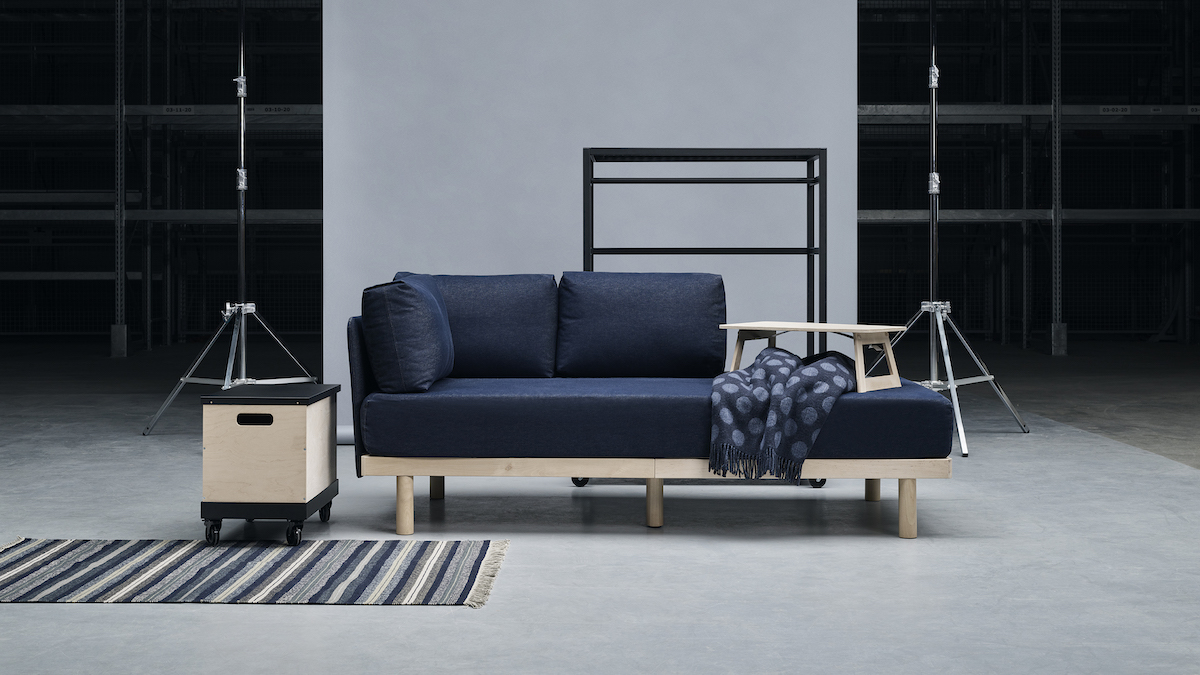 Small Space Living Room Furniture New Ikea Collaboration Features Robotic Furniture For Small Space