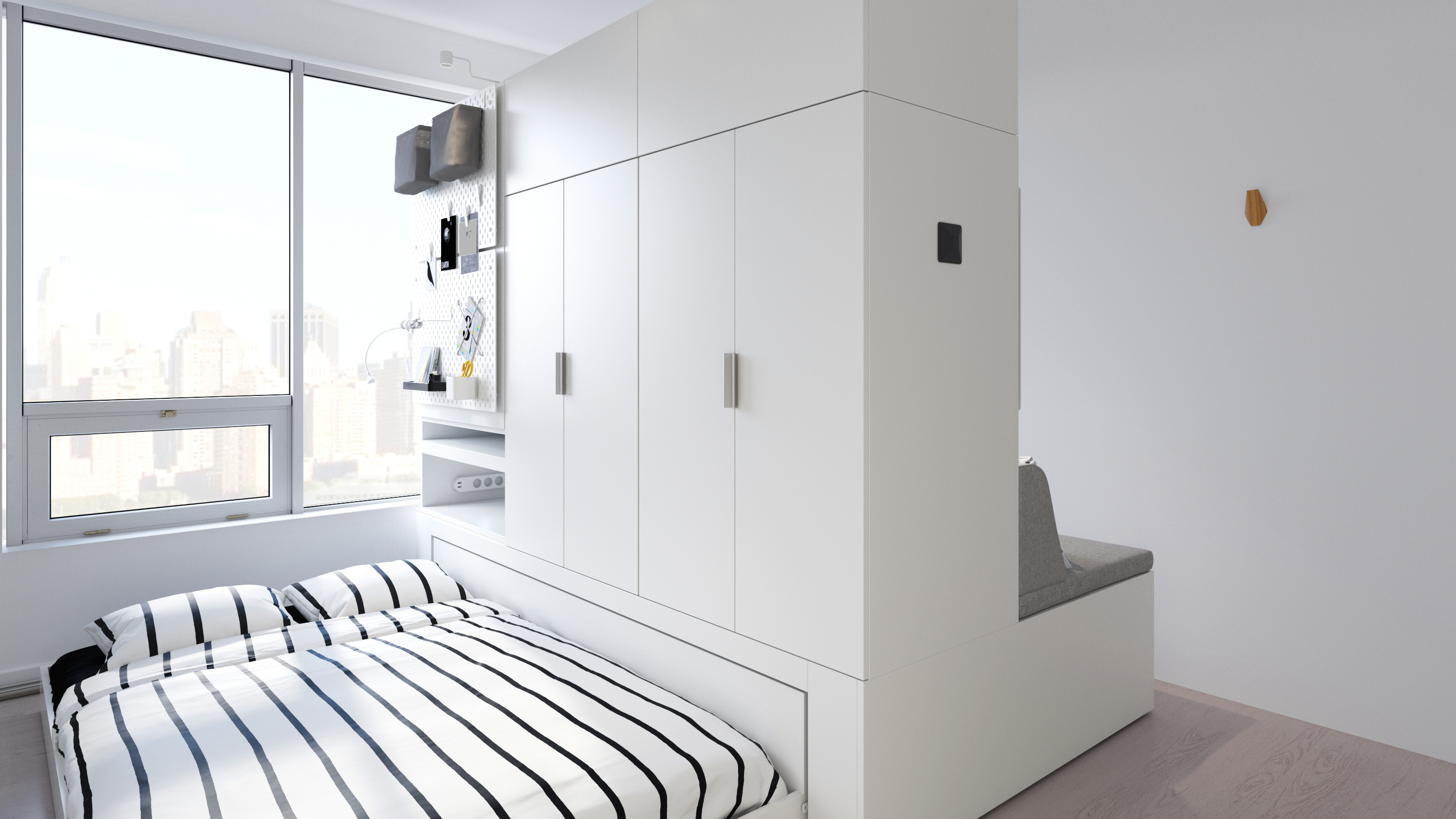 House Furniture New Ikea Collaboration Features Robotic Furniture For Small Space