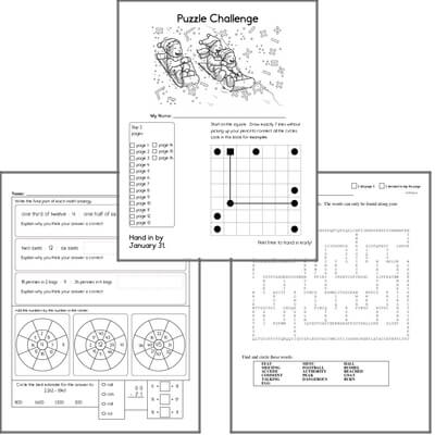 Printable Logic Puzzles With Grids And Answers Download Them Or