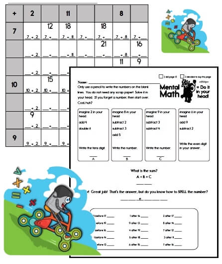 Free Worksheets and No Prep Teaching Resources - The Homework site